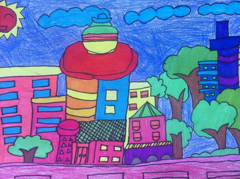 拔萃小学部举行小学生美术作品展